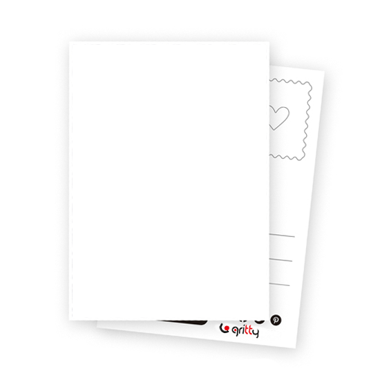 PostCard -Bitkiler Patern